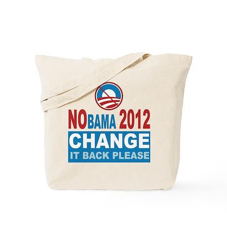 Not Obama 2012 Tote Bag