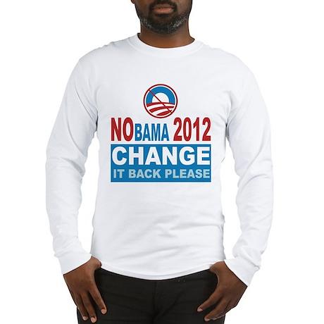 Not Obama 2012 Long Sleeve T-Shirt