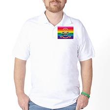 Cute North dakota flag T-Shirt