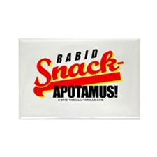 Funny Snackapotamus Rectangle Magnet