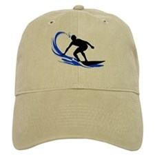 Wave Surfing Baseball Cap
