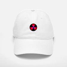Red Radiation Symbol Baseball Baseball Cap