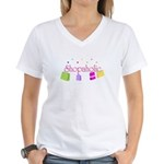 Shopaholic Women's V-Neck T-Shirt