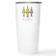 Key West 3 Fishes Travel Coffee Mug