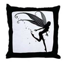 Enchanted Fairy Throw Pillow