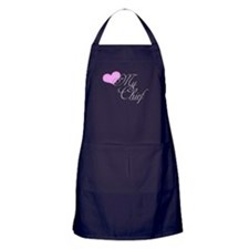Heart my Chief (Navy Ladies) Apron (dark)