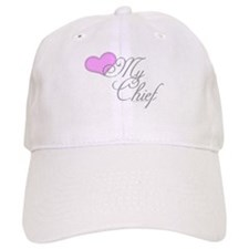Heart my Chief (Navy Ladies) Baseball Baseball Cap