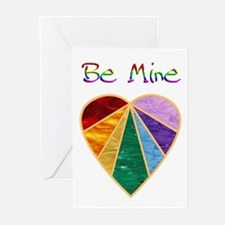 Rainbow Valentine Greeting Cards (Pk of 10)