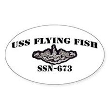 USS FLYING FISH Decal