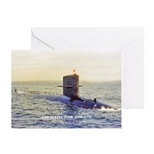 USS FLYING FISH Greeting Card