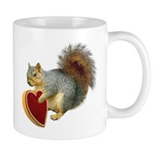 Squirrel Valentine Mug
