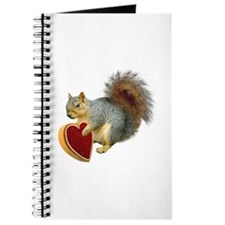 Squirrel Valentine Journal