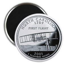 North Carolina State Quarter - Fridge Magnet