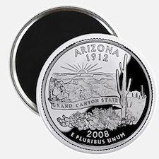 Arizona State Quarter - Fridge Magnet