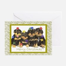 Rotweiller Rottie Greeting Cards (Pk of 10)