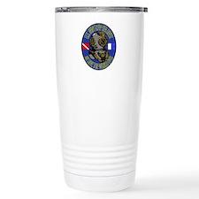 NAVY DIVER Travel Coffee Mug