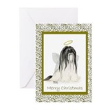 Lhasa apso Greeting Cards (10 Pack)