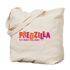 Pregzilla Tote Bag