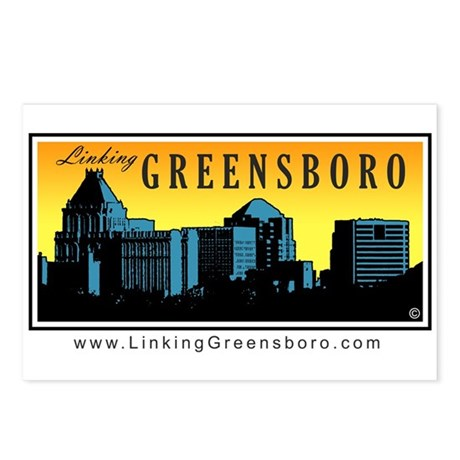 Linking Greensboro Postcards (Package of 8)