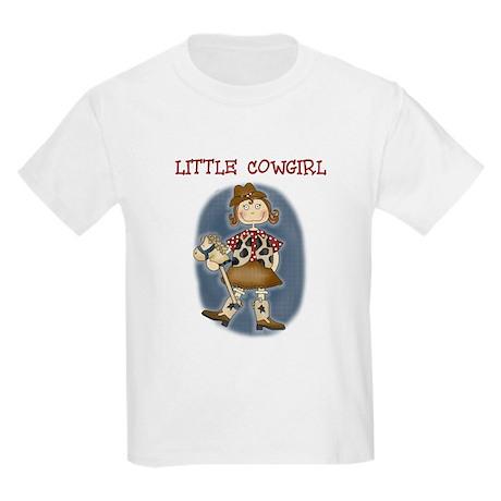 Little Cowgirl Kids T-Shirt