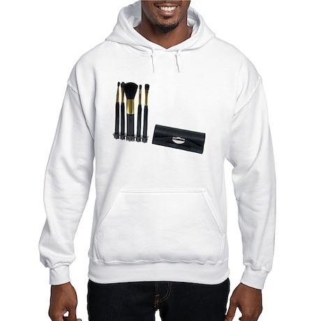 Cosmetic Brushes Hooded Sweatshirt