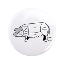 "Pork Diagram 3.5"" Button (100 pack)"