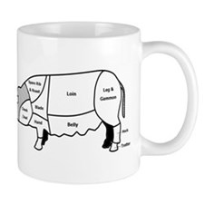 Pork Diagram Mug