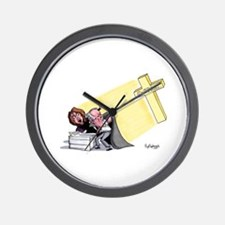 Sucking The Life Blood From T Wall Clock