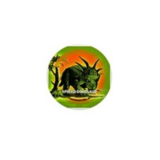 PS SPiked Dino Mini Button (100 pack)