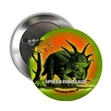 "PS Spiked Dino 2.25"" Button"