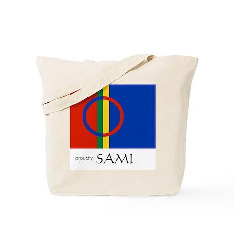 Proudly Sami Tote Bag