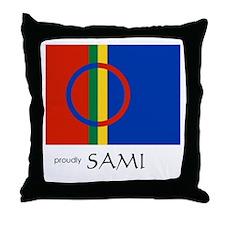 Proudly Sami Throw Pillow