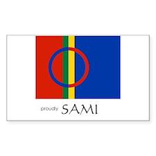 Proudly Sami Decal
