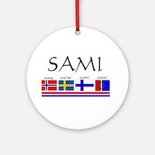 Sami souvenir Ornament (Round)