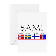 Sami souvenir Greeting Card