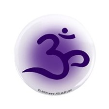 "Purple OM 3.5"" Button (100 pack)"