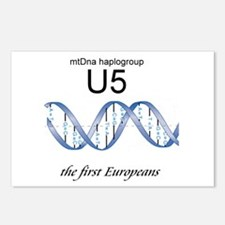 U5 First Europeans Postcards (Package of 8)