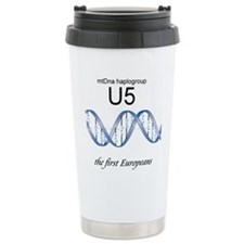 U5 First Europeans Travel Mug