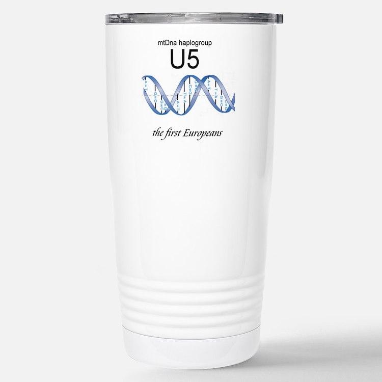 U5 First Europeans Travel Mug