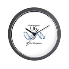 U5 First Europeans Wall Clock