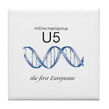 U5 First Europeans Tile Coaster