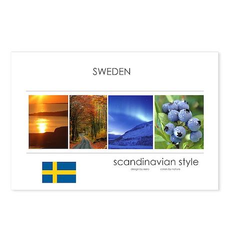 Stockholm Sweden Postcards (Package of 8)