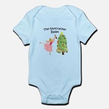 Clara and her nutcracker gift Infant Bodysuit