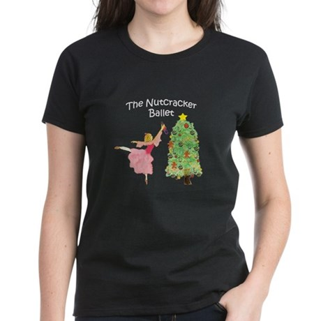 Clara and her nutcracker gift Women's Dark T-Shirt