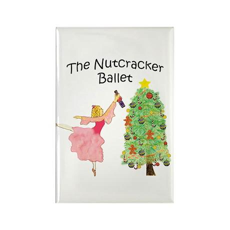 Nutcracker & Clara Rectangle Magnet (100 pack)