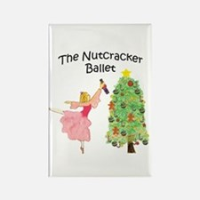 Clara and her nutcracker gift Rectangle Magnet