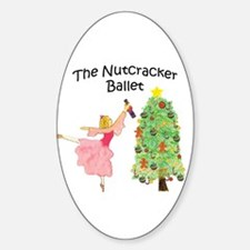 Nutcracker & Clara Oval Decal