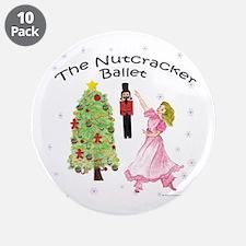 "Nutcracker is IN 3.5"" Button (10 pack)"