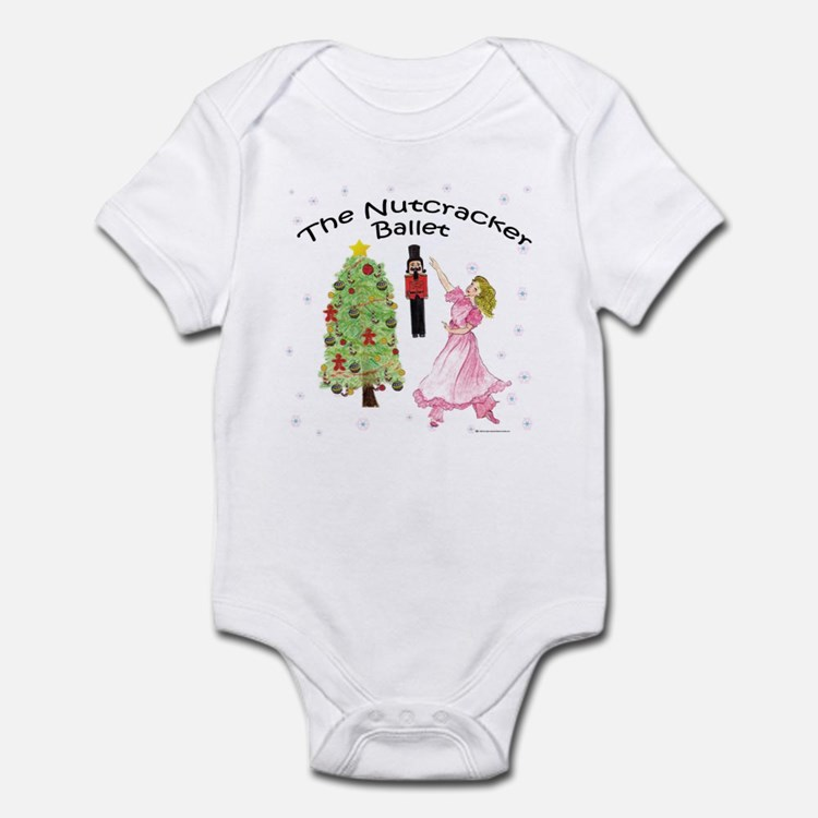 Nutcracker Christmas Infant Bodysuit
