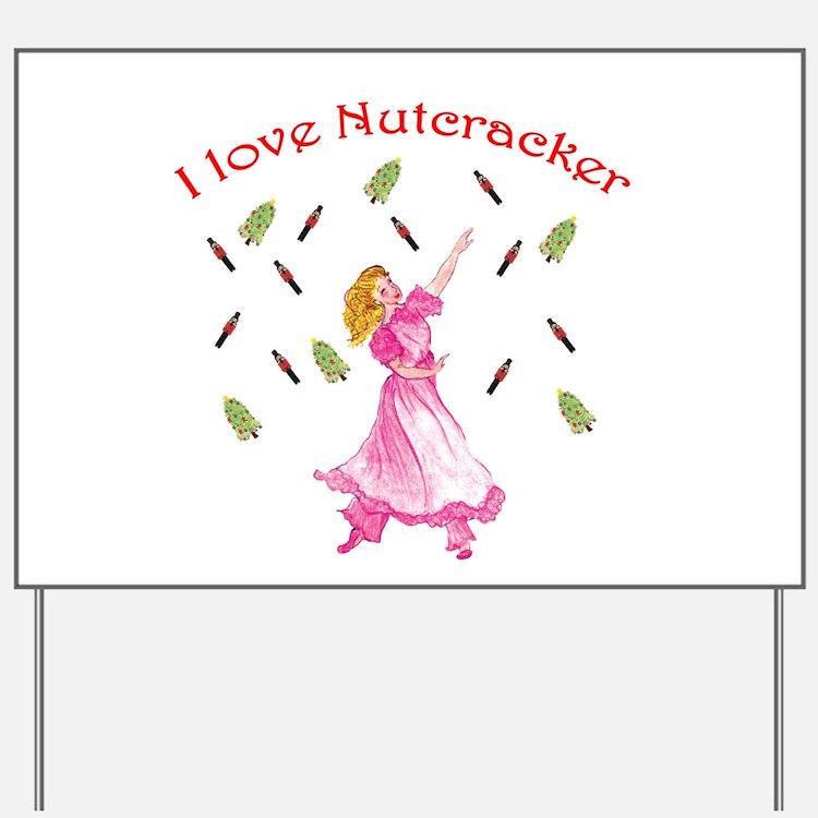 Clara,nutcracker ballet Yard Sign